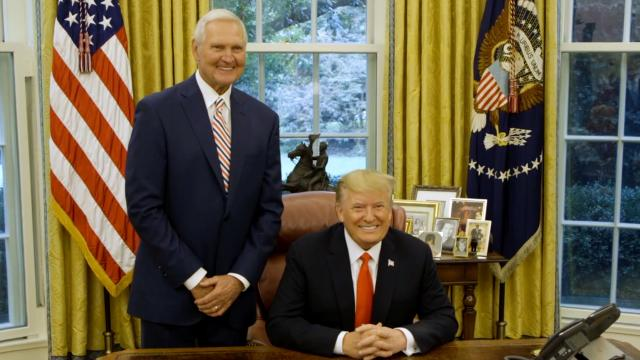 President Trump Presents the Medal of Freedom to Jerry West