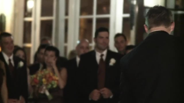 Mom with ALS can't walk for wedding dance, groom drops to his knees and brings the room to tears