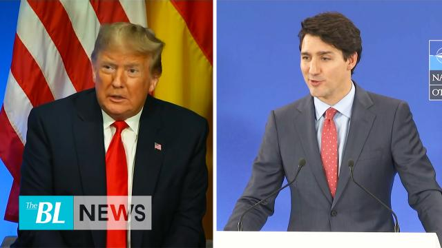 Trump calls Trudeau two-faced after Trudeau caught on hot mic