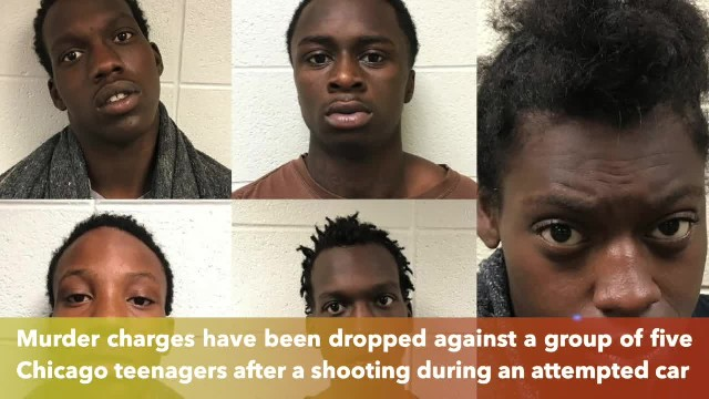 Murder charges dropped against 5 Illinois teens accused in an attempted car theft