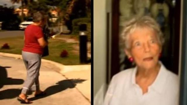 Elderly couple drive around town seven days a week bringing residents to tears with gift in hands