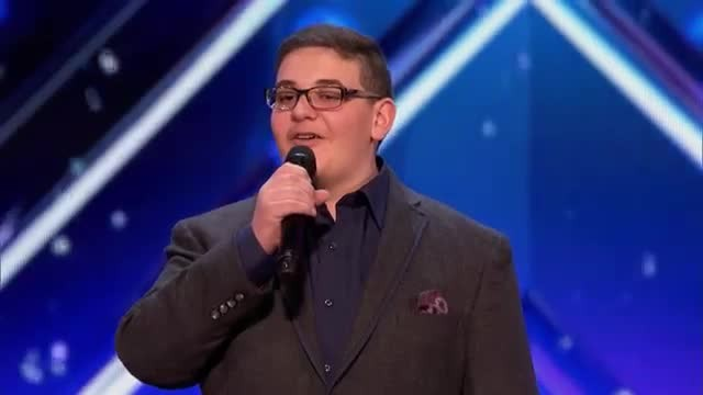 Shaking like a leaf, boy performs act so moving that Howie is forced to hit golden buzzer