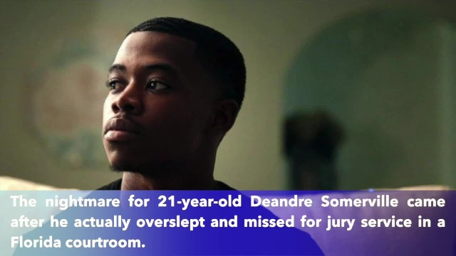 21-year-old man goes to jail for 10 days after he oversleeps for jury duty