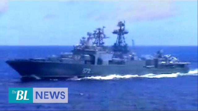 US, Russia trade blame as ships nearly collide