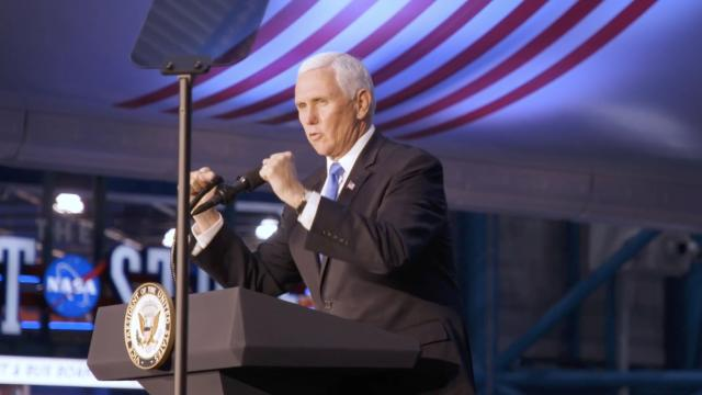 Vice President Pence participates in the 8th meeting of the Space Council