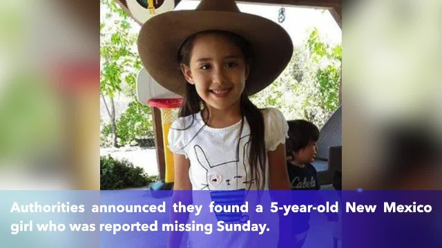 Missing 5-year-old girl in New Mexico found dead during search by FBI