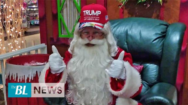 Mall Santa Claus fired for wearing a hat in support of President Trump