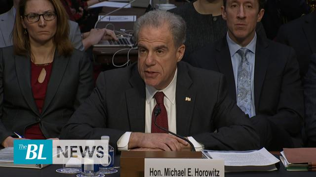Horowitz testifies to so many basic and fundamental errors in FBI investigations into Trump campaign