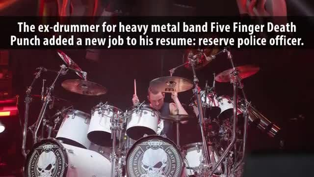 Ex-Five Finger Death Punch Drummer Jeremy Spencer Became Reserve Police Officer