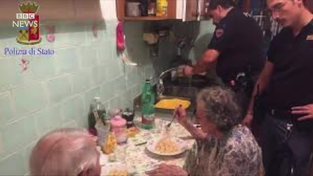 Italian Police Cook Lonely Elderly Couple Pasta After Neighbors Hear Crying