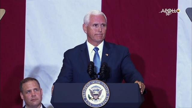 Vice President Pence Delivers Remarks Celebrating the 50th Anniversary of the Moon Landing