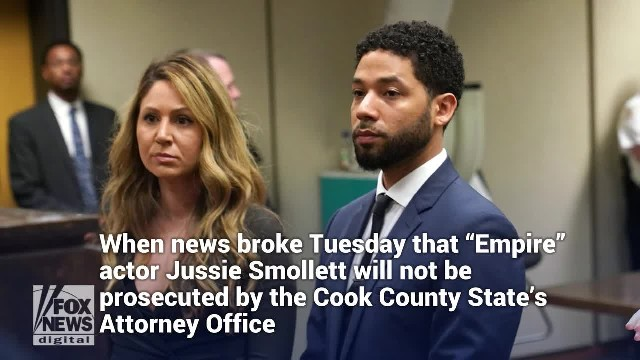 Jussie Smollett won't be prosecuted on charges he faked attack
