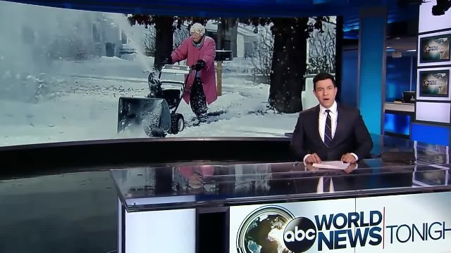 82-Year-Old Grandma Uses Snowblower And The Video Is Firing Up The Internet