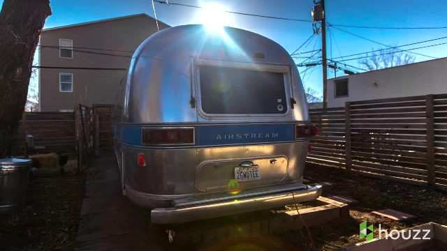 He bought a rundown Airstream - the way he remodeled the inside is absolutely gorgeous