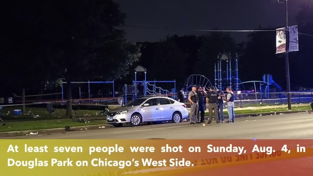 At least 7 wounded in mass shooting at Chicago park