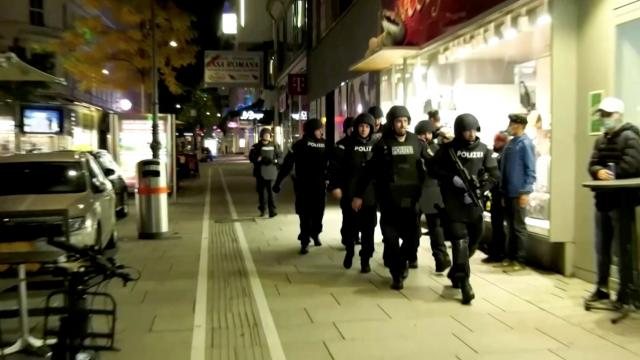 Gunmen launch 'terror attacks' in Vienna