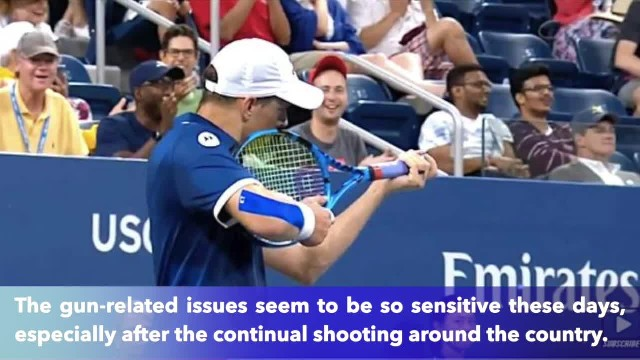 Tennis player Mike Bryan fined $10,000 for making shooting gesture with racket to an official