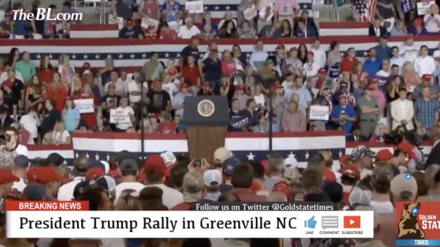 LIVE- President Trump Rally Speech in Greenville North Carolina