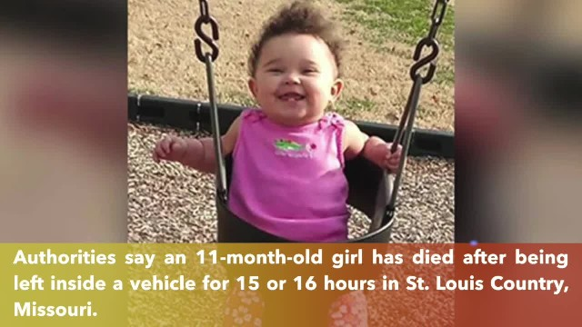 11-month-old dies after being left in hot car for 16 hours in Missouri