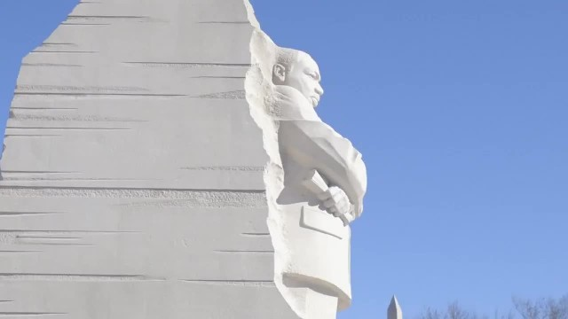 President Trump and Vice-President Pence visit Martin Luther King Jr. Memorial