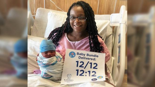 Rare but very special- Baby came in to word on 12-12 at 12-12 during last full moon of the decade