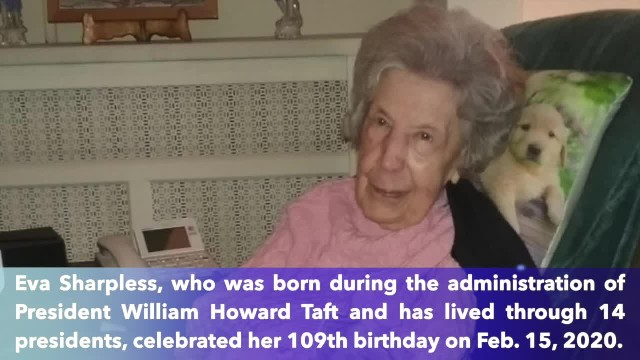 Pennsylvania woman celebrates her 109th birthday—happy birthday, Sharpless!