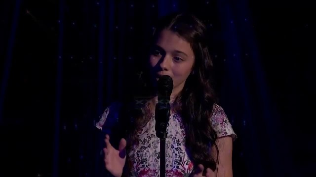 13-Year-Old's Operatic Version Of 'The Prayer' Earncs Her Standing Ovation 'America's Got Talent'
