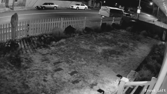 This package thief has no idea that the homeowner booby trapped it
