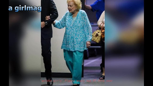 FRAIL BETTY WHITE MAKES RARE APPEARANCE IN SHOCKING NEW PHOTOS