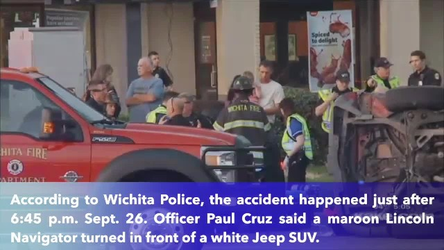 8-year-old girl dies from injuries in west Wichita multi-car crash