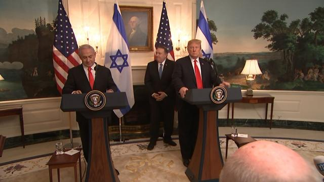 President Trump recognizes Israel's absolute right to defend itself