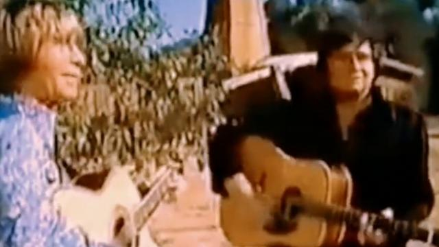 Lost footage of John Denver & Johnny Cash singing 'country roads' is discovered, 42 years after film