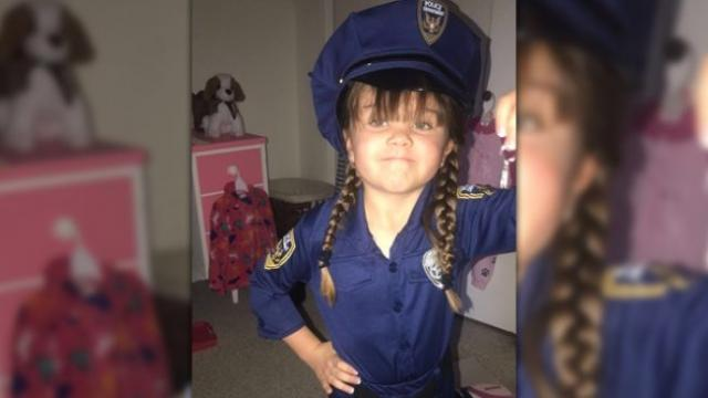 Las Cruces police show support for 6-year-old girl undergoing 5th heart surgery