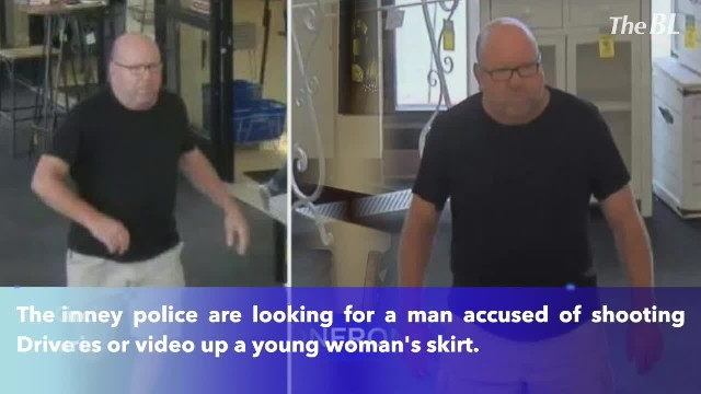 Police searching for man accused of taking pictures up young woman's skirt in McKinney, Texas