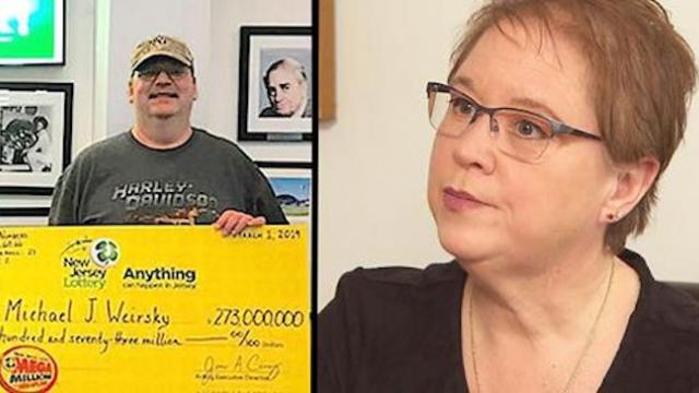 Woman whose ex-husband won $273 million lottery doesnt want to