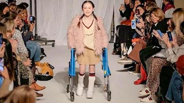 Eleven-year-old girl with cerebral palsy defies all odds and