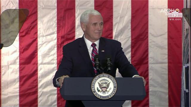 Vice President Pence Delivers Remarks to NASA's Ames Research Center Employees and Guests