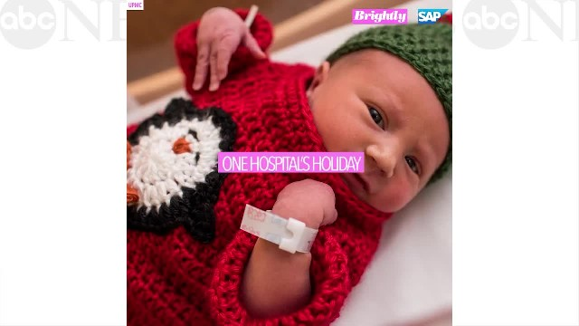 These newborn babies in 'ugly' Christmas sweaters truly make the season bright
