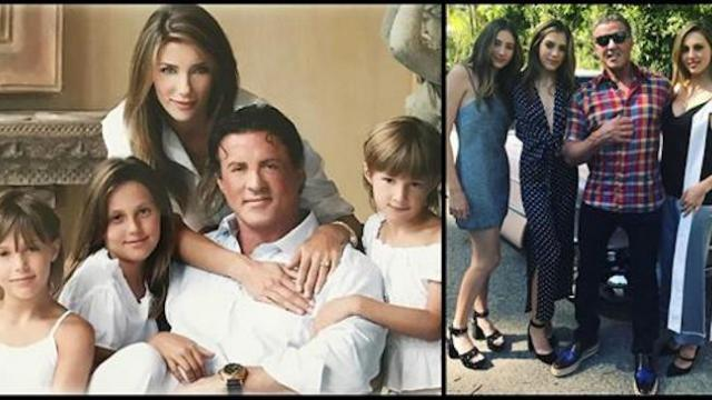 Sylvester Stallone's daughters are all grown up and working as professional models