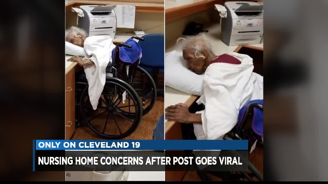 Family urges others to make surprise visits to nursing homes after mom is found alone 'gasping for b
