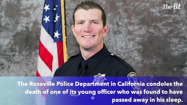 Roseville Police Officer Passes Away In His Sleep At Age 36