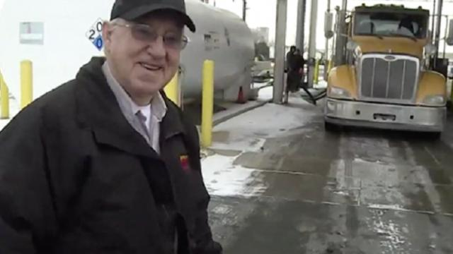 Truck driver recognized for driving 4.4 million miles without an accident