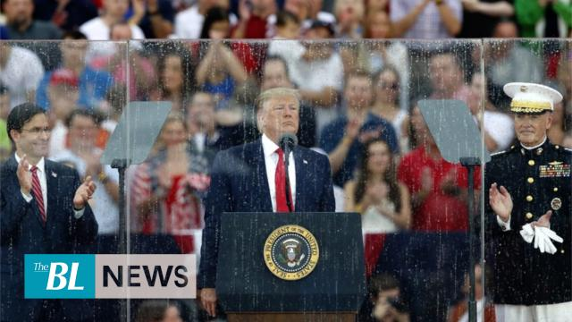 Thousands pack National Mall for President Trump's Salute to America