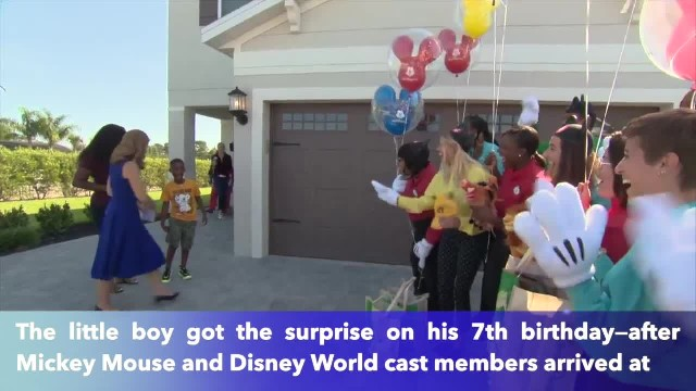 Seven-year-old boy who spent his Disney vacation savings to feed Dorian evacuees gets a surprise tri