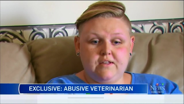 Vet caught punching and choking animals in his care gets his job back