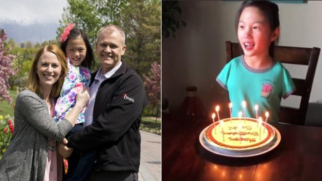 Girl born without arms was put up for adoption by her parents—she's thriving now!