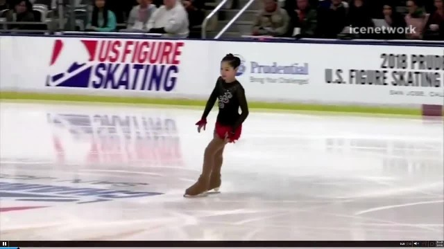 12-Year-Old Shocks Audience By Landing Surprise Triple Axel And Breaks World Record