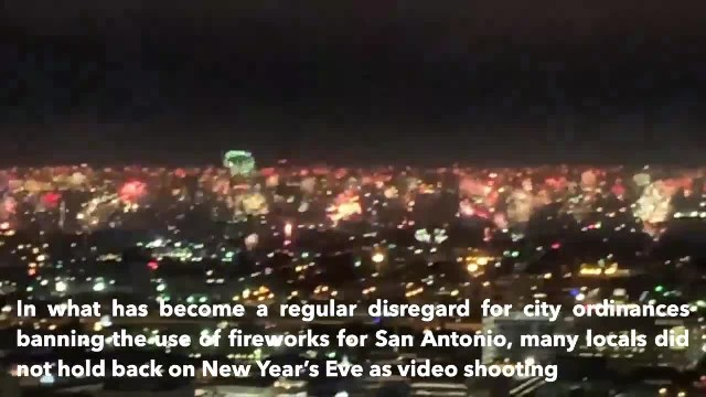 Video shows illegal New Year's Eve fireworks erupting across San Antonio's skyline_converted