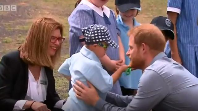 Prince Harry's Incredible Act Towards Boy With Down's Syndrome After Photo Was Taken