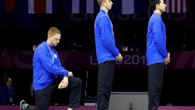 International Olympic Committee bans athletes from kneeling and other forms of political protest at